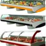 монтаж холодильных витрин